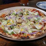 もんぺとくわ - 日曜日限定のピザ¥1,000-は安いよね。