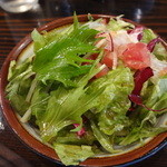 ビストロ鉄彩 - ランチサラダ