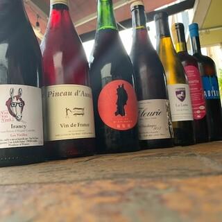 自然派ワインがいっぱい