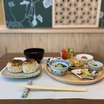 京のSAKESORA - 料理写真:おばんざいランチセット(焼きおにぎりバージョン)