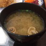 とりかん - 味噌汁