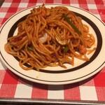 焼きスパゲッチ ミスターハングリー - ナポ。500円。