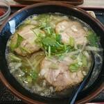 和合餃子 - 叉焼刀削麺  800円