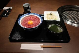 黒毛和牛 腰塚 たまプラーザ店 - 越塚の極上コンビーフ丼