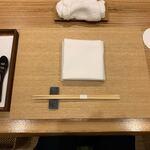 日本料理 e. - セッティング@2020/05