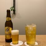 日本料理 e. - 【恵比寿ビールと冷たい緑茶で乾杯!】2020/05