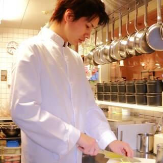 期待の若きシェフが織り成すフランス料理