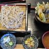 十割そば 古賀 - 料理写真:野菜天丼セット