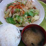 きょんたろう食堂 - 野菜炒め 450円也