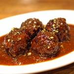 ジュウバー - 料理写真:ジュウバーの肉団子