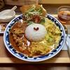 パニ カフェ - 料理写真:辛辛チキンと今日の野菜