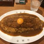 カレー専門店 白銀亭  - カツカレー 大盛り