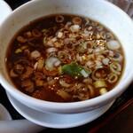 131625319 - つけ麺のスープ