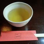 蕎麦会席 一 - 料理写真:そば茶