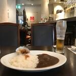 Ken's珈琲店 - エビスビールとのセット(税込み1320円)
