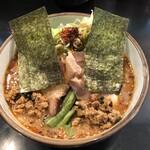 麺家 うえだ - 料理写真:辛特濃を注文しましたが、確かに濃厚!