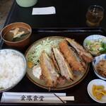 金鳳食堂 - 料理写真:なすはさみ揚げ定食