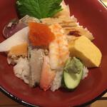 魚屋の台所 下の一色 - 魚屋自慢の海鮮丼
