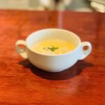 キュイ ラルドワーズ - 料理写真:スープ