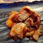 江南焼肉 わにく - 江南焼肉ランチのお肉のアップ