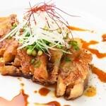 イナロ食堂 - 豚足のガレット