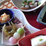 にんにん - 彩り前菜