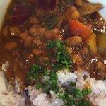 ロス・バルバドス - 10回目2012年5月29日ジャマイカ料理ジャムダウンカレー ジャマイカ風野菜と豆のカレー アイタルフード