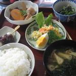 おばさん食堂 - 料理写真:定食