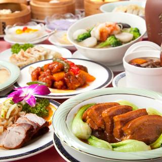 伝統の広東名菜を心行くまでお楽しみください。