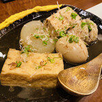 131642260 - おダシがクリアで美味しいです。京風おでんですね♫