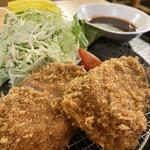とんかつ 豚信 - 料理写真:ヒレカツ定食100g