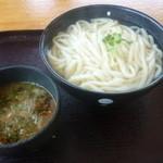 麦庵 - 肉汁つけ麺