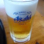 麦庵 - 生ビール