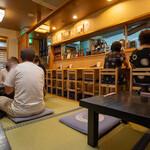 鰻 むさし乃 - 2020.6 座敷とカウンター席