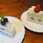 ラシェットブランシュ湘南 - 料理写真:レアチーズ&ショート