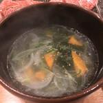 131660690 - わかめスープ ¥528