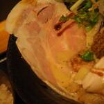 鯛担麺専門店 抱きしめ鯛 - 鯛担麺(レアチャーシュー)