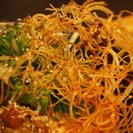 鯛担麺専門店 抱きしめ鯛 - 鯛担麺(揚げたジャガイモ)