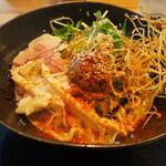 鯛担麺専門店 抱きしめ鯛 - 汁なし鯛担麺