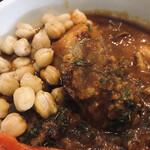 五○堂 - ひよこ豆と道産鶏レバー