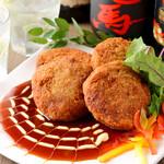 九州料理×もつ鍋 九州小町 - メンチカツ