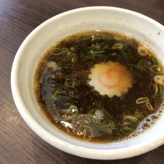 麺や 河野 - つけ汁(醤油)