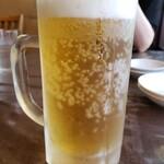 中華厨房 らんたな - 生ビール