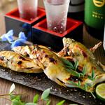 個室居酒屋×海鮮炉端焼き 喰海 - 鮎の塩焼き