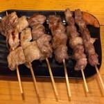 串焼き 勝 - 串焼き盛り合わせ