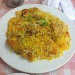 インド・パキスタン料理 ホット・スプーン - チキンビリヤニDX(ビッグダディ作)