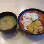 13168133 - 三味丼とお味噌汁