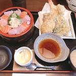 小名浜 - 限定5食 バラちらし御膳1,700円