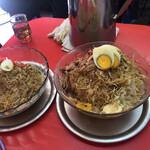 八光軒 - 冷麺並と特大を比較!