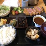 溶岩焼 市 - 牛カツ定食